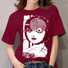 Uzumaki Junji Ito Japanese Horror Manga women&#039 ; S T Shirt S 5Xl