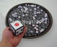 Super Dice Bomb Crash Dice Magic Tricks Stage Magia Magicians Illusion Gimmick Props Jumbo Dice To dozens Small Magia