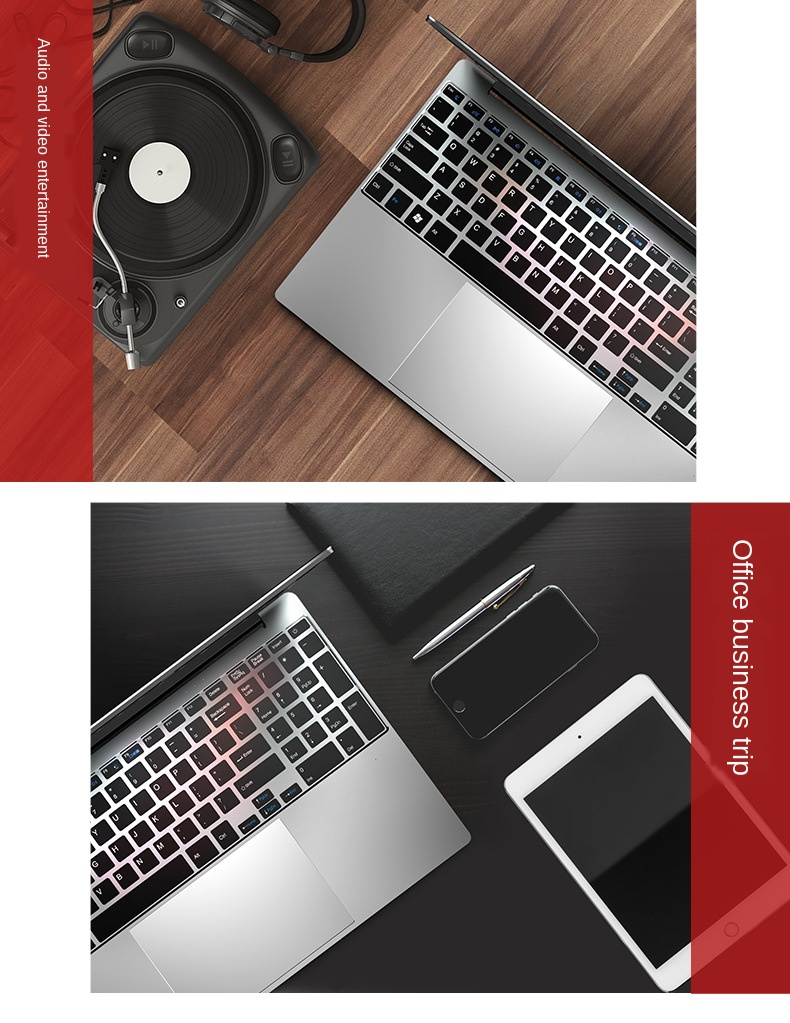 Gaming Laptop Ordenador Portatil Pc Portable 16G 512G GF940M Honor Mcbook Leptop Notebook Gamer Coral Silver Red Laptop i7&J4105