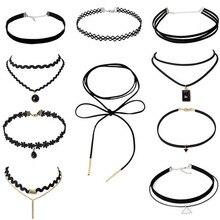 Women Lace Fiashion Choker 1 pc 4 pcs 6 pcs 8 pcs 10 pcs Lady Girl Necklace Bithday Gift