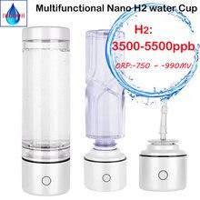 Nano spe & pem бутылка для воды с высокой концентрацией водорода