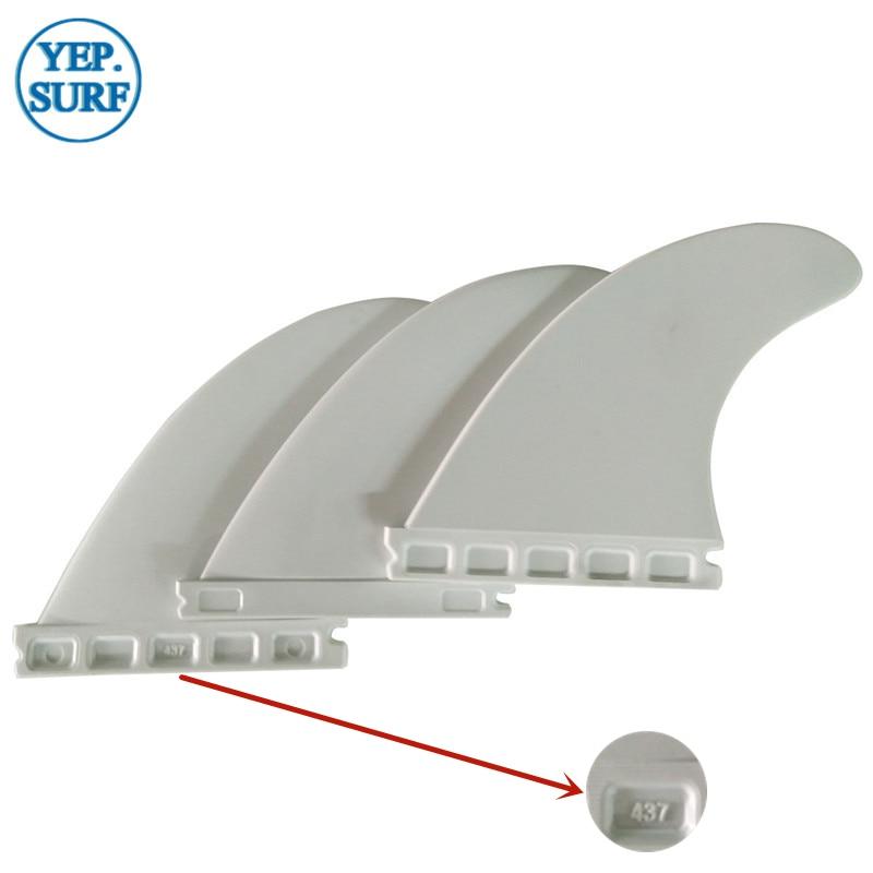 Купить с кэшбэком Surf Future G5 Fins White Plastic Future Fins M Size Nylon Quad Fin  Surfboard Future Fin