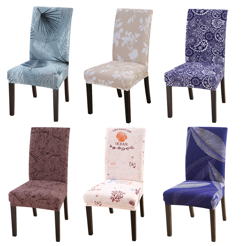 С цветочным принтом тянущиеся эластичные чехлы на кресла из спандекса для свадьба комнаты, офиса, для банкета, housse de шезлонг чехлы для