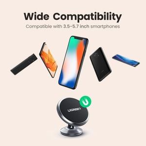 Image 5 - Ugreen Auto Magnetische Telefon Halter Handy Halter Stehen In Auto Smartphone Unterstützung Magnet für S10 Handy Ständer Halter