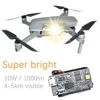 Flash estroboscópico lámpara 10W Super brillante 1000lm vuelo luz para DJI Mavic aire 2S /Phantom /mavic Mini SE Drone Accesorios