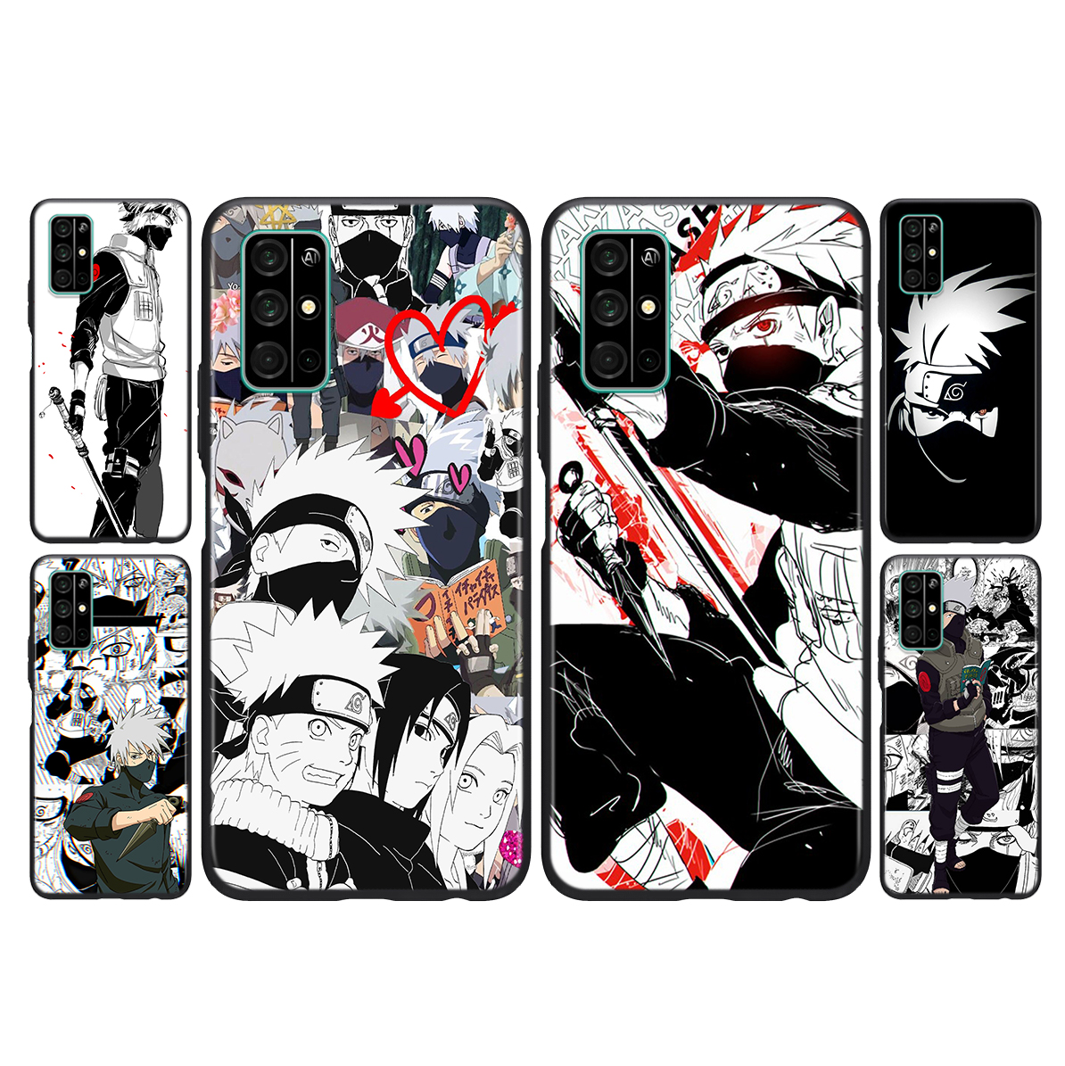 Silicone Cover Hatake Kakashi For Huawei Honor 30i 10X 30S 9A 9S 9X 30 9C 20 20S V20 10i 10 7C Pro Lite Phone Case