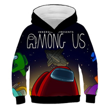 2021 New Funny Game 3D Among Us Hoodies For Teens Girls Cute Impostor Boys Clothes Sweatshirt Long Sleeve Toddler Autumn