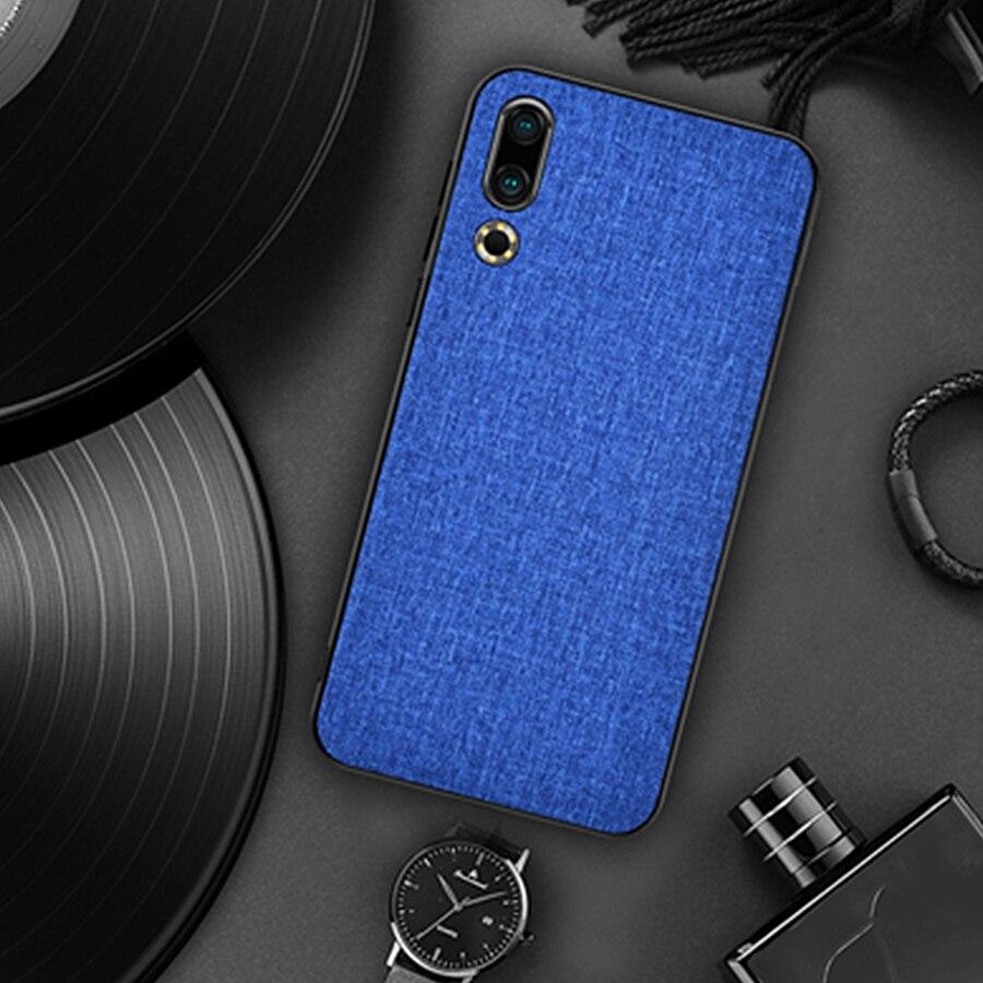 Classic Fabric Case for Meizu Note 9 16th 16s 16x 16 Plus 16XS Pro Soft Silicone Cloth Cover TPU + PC Protector for Meizu 16x