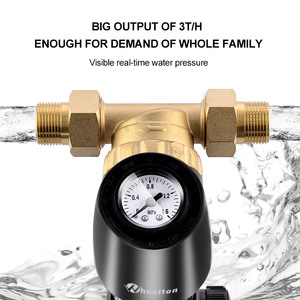 Image 3 - Wheelton Pre Filter Adjustable Direction 59 1 Brass 40micron Prefiltro Water Filter Purifier Protect Appliance