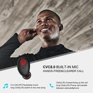 Image 5 - Whizzer B6 TWS Bluetooth 5,0 IPX7 resistente al agua actualización verdadera auriculares inalámbricos soporte Aptx/AAC 45h tiempo de reproducción para iOS/Android