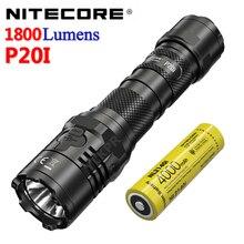 Оригинальное зарядное устройство NITECORE P20i использует Luminus SST-40-W светодиодный 1800 люмен, таким образом, USB-C Прямая зарядка с помощью разъема пра...