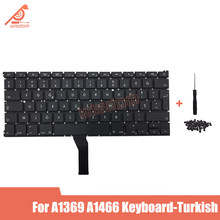 "Volledige Nieuwe Laptop Turkse Keyboard Voor Macbook Air 13 ""A1369 A1466 Turkse Keyboard MD231 MD232 MC503 MC504 2011-15 Jaar(China)"
