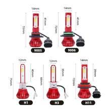 2 шт Автомобильный светодиодный светильник h1 h3 h7 h11 9005