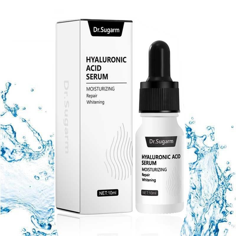 Dr. sugarm ácido hialurônico rosto soro hidratante clareamento essência facial creme facial reparação antienvelhecimento levantamento firmando cuidados com a pele