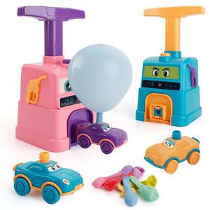 Inertial-Toys Balloon Car Power-Develop Children's Skills Thinking Practical Learning-Aerodynamics