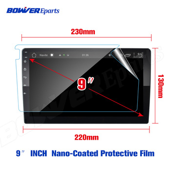 Soft Nano-coated Screen Protective Film (NO Tempered Glass) for TEYES CC2 10.1 9 inch GPS Car Radio Multimedia Player Navigation image