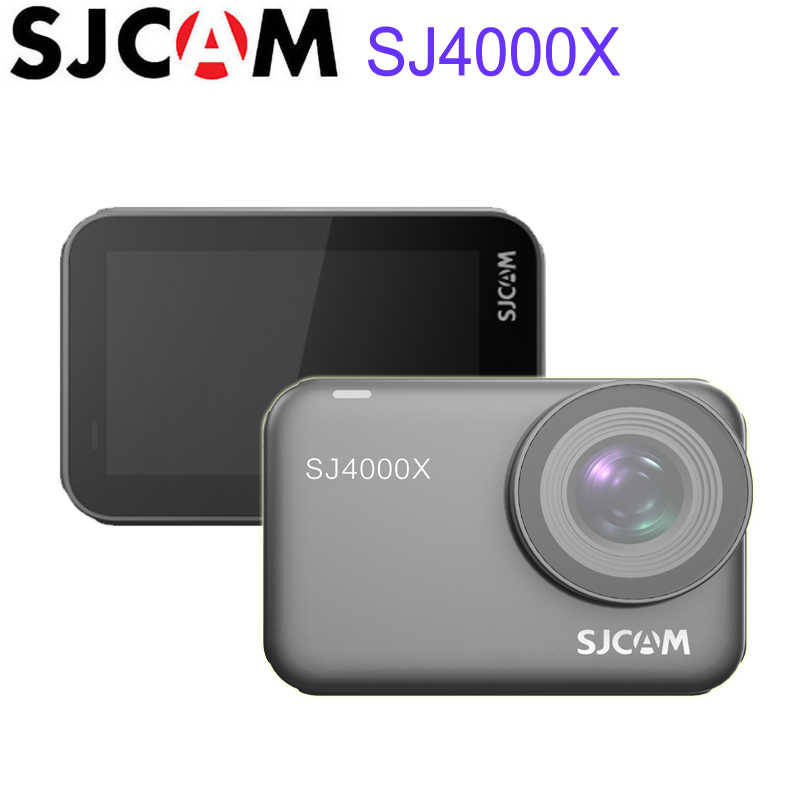 """SJCAM SJ4000x Con Quay Hồi Chuyển 4K24FPS Wifi Điều Khiển Hành Động Từ Xa Camera Novatek NT96660 2.33 """"Màn Hình Cảm Ứng 10 M Cơ Thể Chống Nước Video Thể Thao camera"""