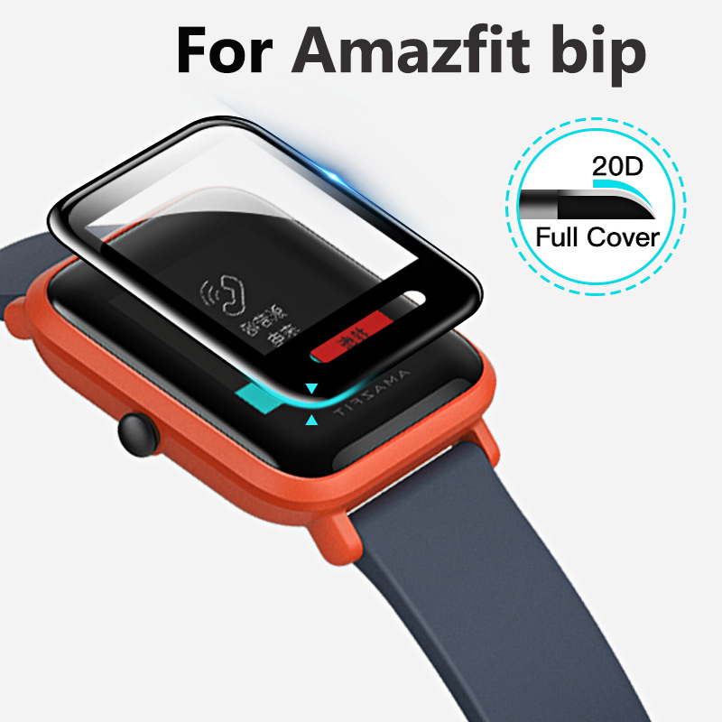 Slim Film For Huami Amazfit Bip Screen Protectors Anti-scratch Case Ultra-thin Protective Film Full Cover TPU For Smart Watch