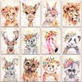 5D DIY Diamant Malerei tier lion panda kaninchen Flamingo Volle Square & Round Diamant stickerei Kreuz stich Diamant mosaik farbe