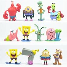 1 Máy Tính Lớn Bể Cá SpongeBob Trang Trí Patrick Ngôi Sao Nhân Vật Squidward Xúc Tu Krabs Cá Phong Cảnh Trang Trí Kid Tặng