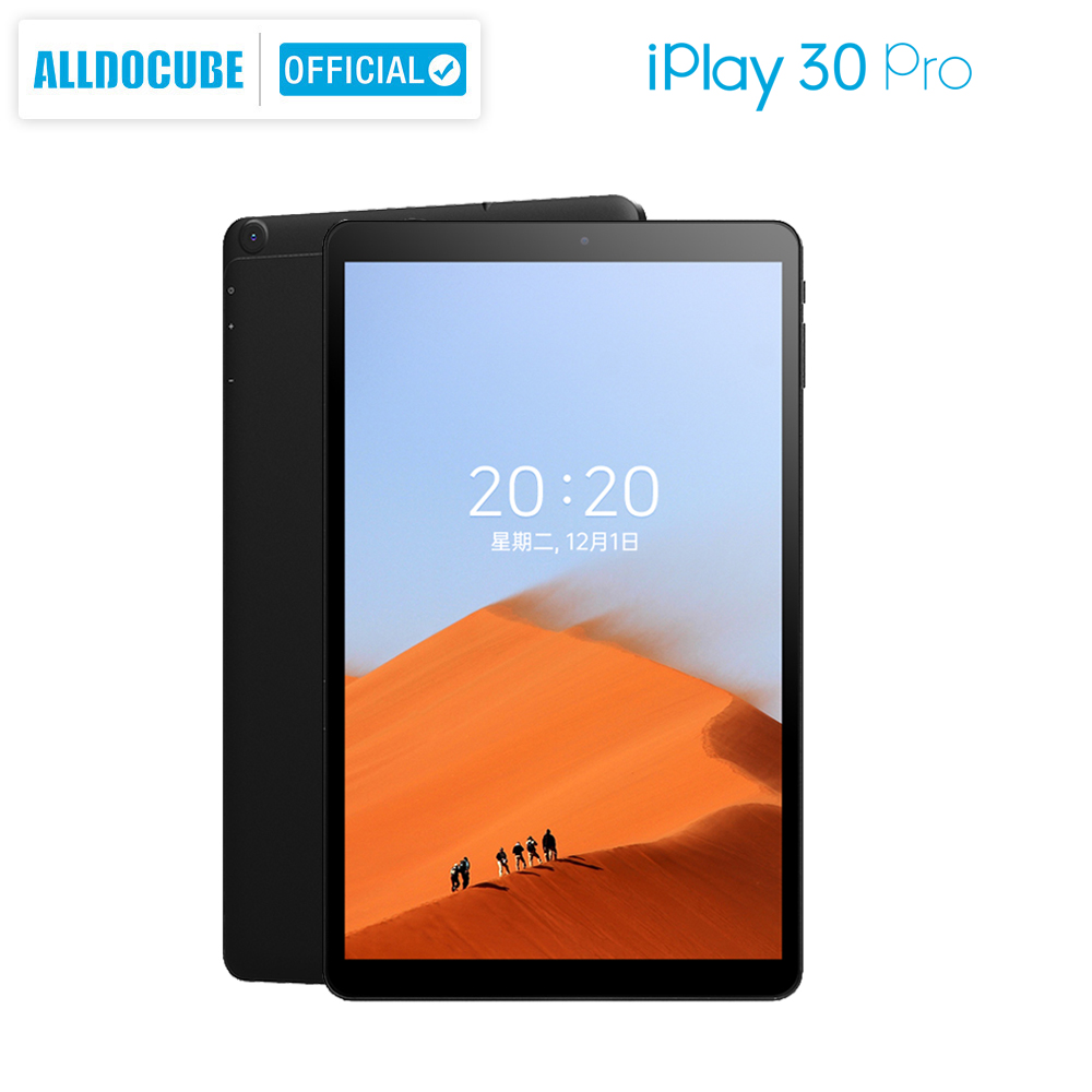 ALLDOCUBE iPlay30 Pro 10.5 inch Tablet android 10 Octa Core 6GB RAM 128GB ROM Dual Sim Cards Phone Calling Tablet PC 1920*1200 6