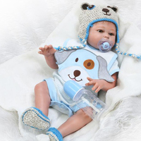 Toy Full body silicone doll bebe reborn boy girl dolls 20 50cm water proof bath toy popular reborn toddler baby dolls gift