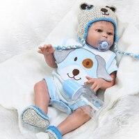 Toy Full body silicone doll bebe reborn boy girl dolls 20 50cm water proof bath toy popular reborn toddler baby dolls gift
