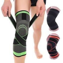 1PC Kneepad Elastic Bandage Pressurized Knee Pads Knee Support Protector for Fitness sport running Arthritis muscle joint Brace