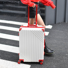 Wheels Travel-Bag Rolling-Luggage Aluminum-Frame Chengzhi20-Spinner Business-Suitcase