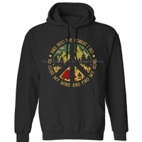 Camping Into The Forest I Go To Lose My Mind Vintage Mens Neutral (Womens) Winter Hoodies Sweatshirts Free Shipping