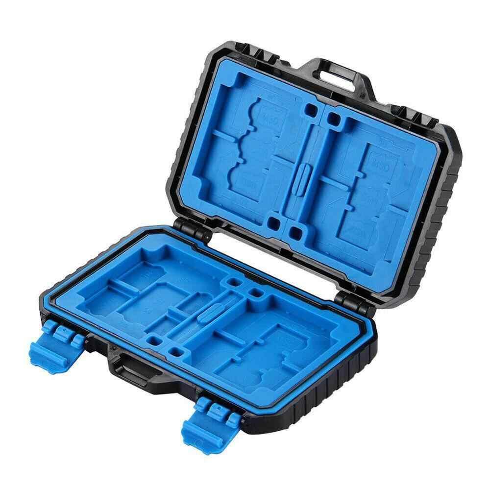 กันน้ำ 27 ช่องใส่การ์ดหน่วยความจำกรณี SHELL Protector กล่อง F SD 9 ความจุ: PIN + + CF 8 + 4 ที่เก็บ T 1 K9V5