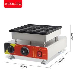 Image 3 - XEOLEO 25 delik gözleme makinesi 800W Dorayaki maker yapışmaz Poffertjes makinesi Mini Dorayaki izgara Mini kek üreticisi