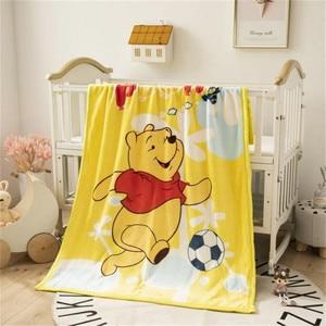 Image 5 - Manta de Minnie Mouse de Disney para bebé, manta de franela, manta cálida de felpa, funda de edredón, regalo para bebé, 100x140cm