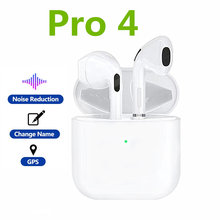 Airpodding Pro 4 Wireless Bluetooth Earphone TWS Headphones HiFi Music Earbuds Sports Gaming Headset For iPhone Xiaomi huawei(China)