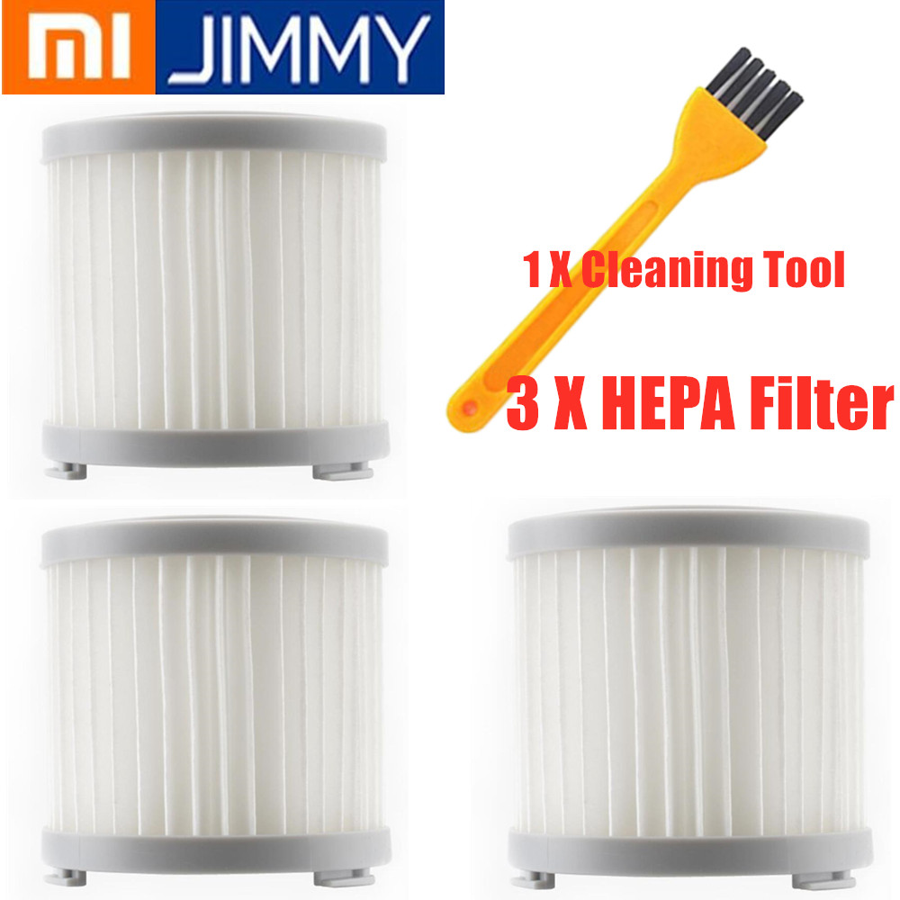 Vacuum Cleaner Kits Parts HEPA Filter For Xiaomi JIMMY JV51 JV71 CJ53/C53T/CP31 Handheld Cordless Vacuum Cleaner HEPA Filter