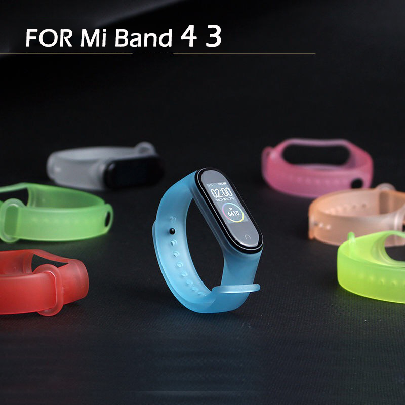 Bracelet For Xiaomi Mi Band 4 3 Sport Strap Watch Silicone Wrist Strap For Xiaomi Mi Band 3 Accessories Miband 3 Bracelet