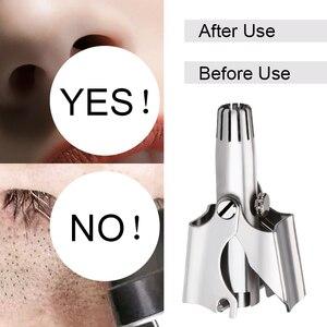YBLNTEK триммер для носа для мужчин ручной триммер из нержавеющей стали для носа бритва моющийся Нос ушей Триммер для волос