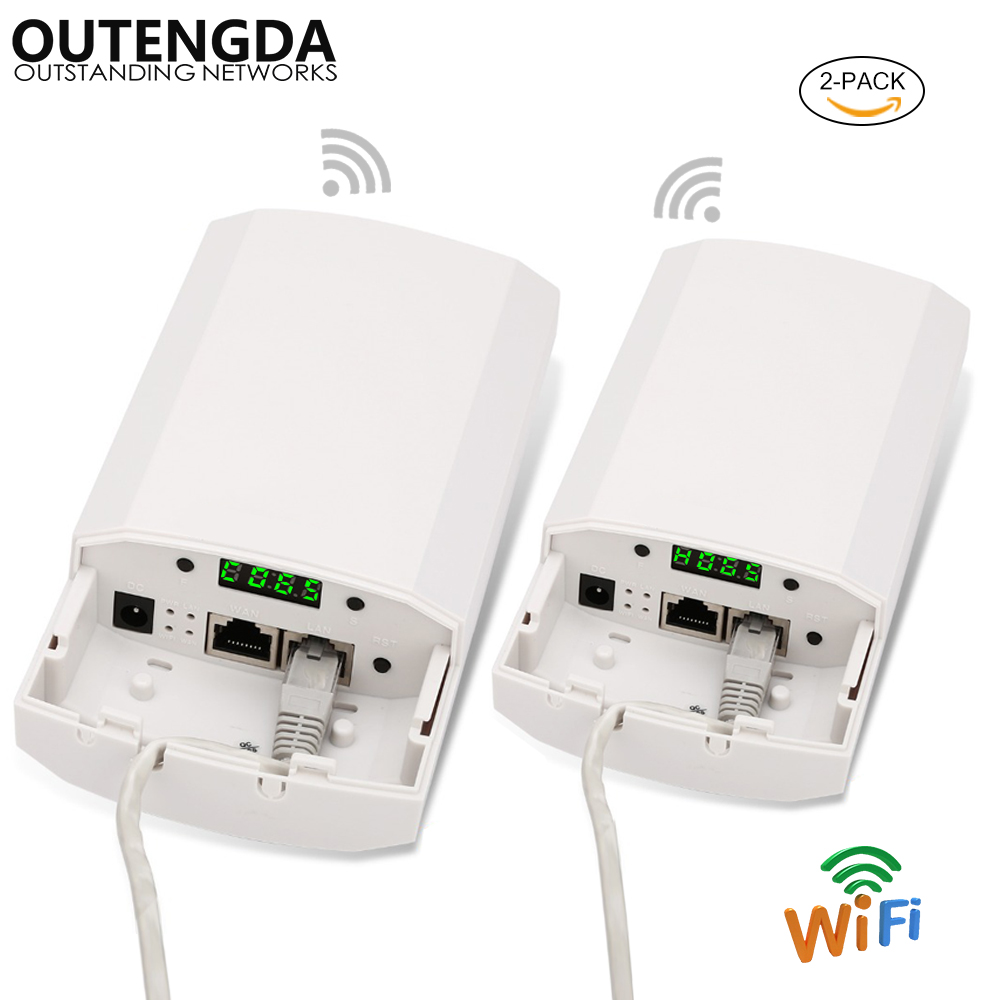 Outdoor CPE Router Point-to-Point 2KM Elevator Wireless CPE Bridge Router Wifi Repeater Support WDS Wireless AP For IP Camera