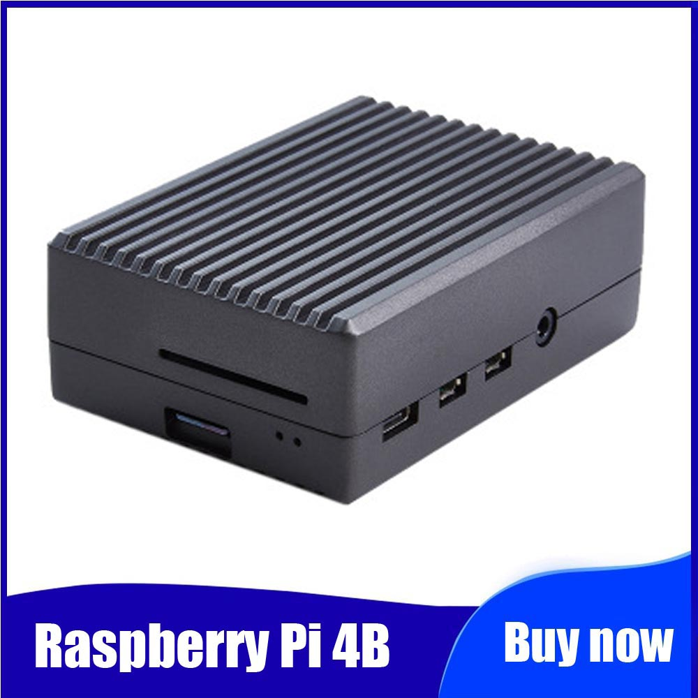 Cooler Raspberri Pi 4 Ultimate Dual Cooling Radiator With Radiator Cooler Optional For Raspberry Pi 4B