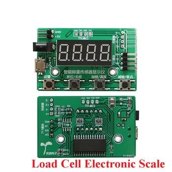 Load Cell HX711 AD Module Weight Sensor Digital Display Electronic Scale Weighing Pressure Sensors 1KG 5KG 10KG 20KG Instrument weighing sensor transmitter 485 weighing module modbus