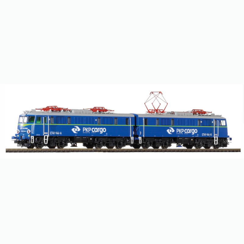 HO 1:87 Train Model 96370 Et41-144 Double Locomotive Tram The Fifth Generation Of Polish National Railway