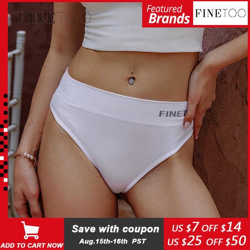 Finetoo calcinha modeladora para mulheres, calcinha compressora de cintura alta, controle de barriga, molda, redutor de bumbum