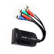 1080P Hdmi Naar Scaler Rgb Component Ypbpr Video En R/L Hdtv Audio Adapter Converter Met Audio Video kabel Voor Game Tv PS3