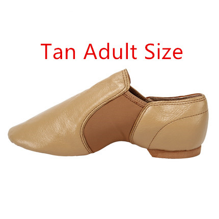 2020 New Jazz Slip on Dance Sneakers Dancing Shoes for Ladies Black Tan Adults and Children Women Jazz Shoes 7