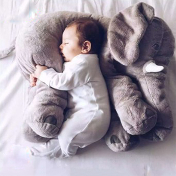 40cm / 60cm cute big plush animal toy elephant toy doll doll and accessories children sleeping pad baby pillow SP001 60cm colorful giant elephant stuffed animal toy animal shape pillow baby doll home decor peluche plush toys for children gifts