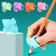 3 пальца карандаш, корректирующая ручка для детей, начинающих, ручка для письма, помощь для письма, приспособление для правильного положения пальца, подарок для детей