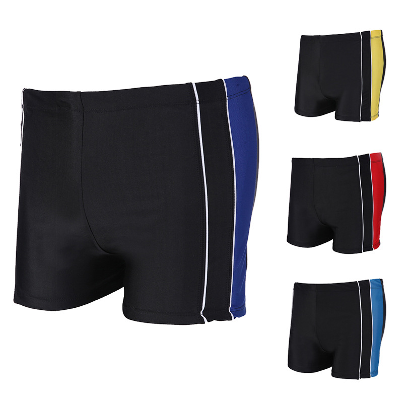 MEN'S Swimming Trunks Manufacturers Direct Selling Boxer Stripes Quick-Dry Adult MEN'S Swimming Trunks New Wholesale 649