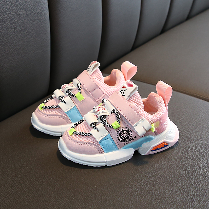 Colorful Breathable Toddler Baby Sneakers 4