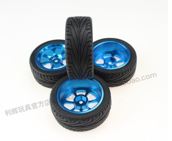 WLtoys 1:14 144001 RC car parts metal whell hub tire tires