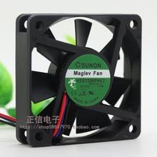 Voor Sunon KDE1206PHV2 12V 1.1W 6Cm 6015 60*60*15Mm Axiale Koelventilator
